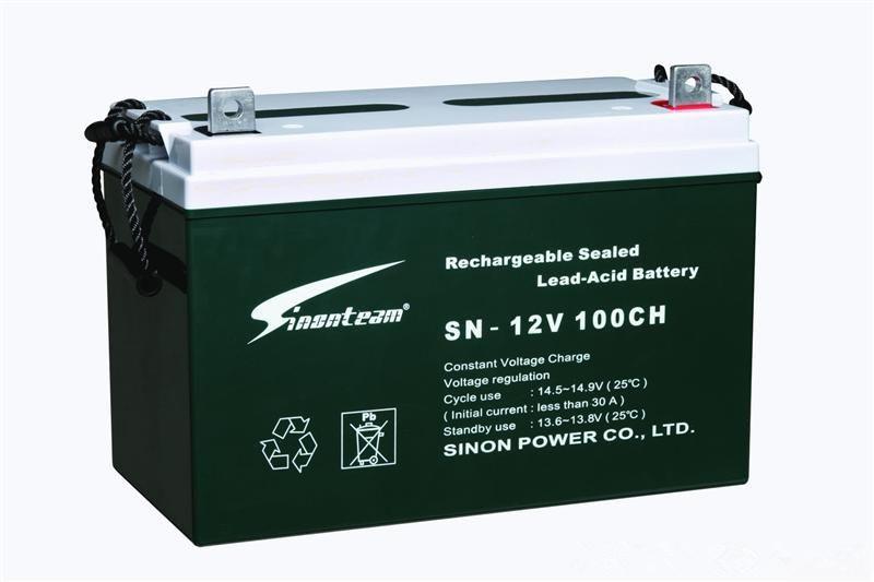 赛能蓄电池SN-12V100CH 12V100AH技术参数