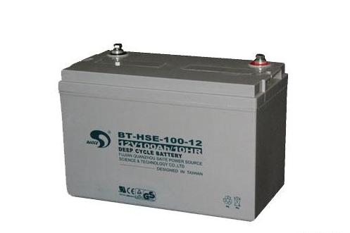 赛特蓄电池BT-HSE-100-12 12V100AH型号尺寸