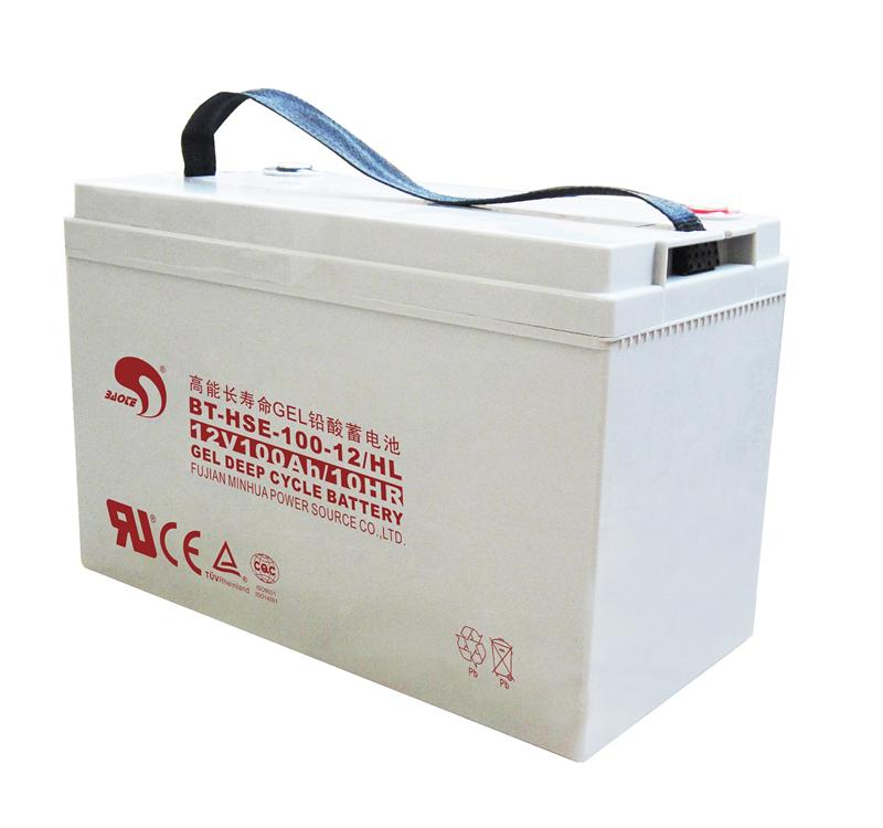 BAOTE蓄电池蓄电池BT-HSE-100-12 12V100AH代理价格