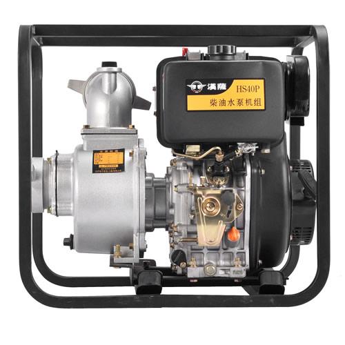 方便移动4寸柴油机水泵