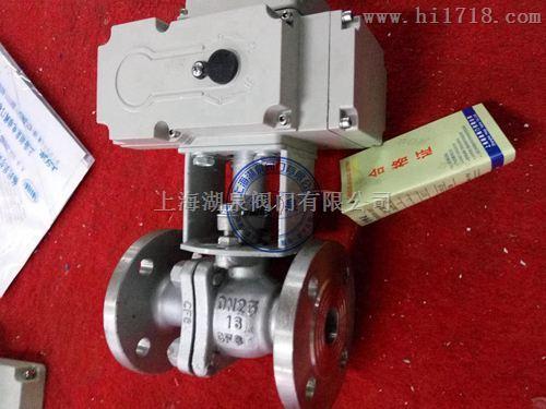 Q941F浮动式电动球阀
