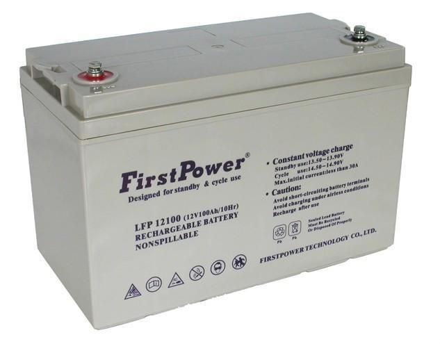 FirstPower蓄电池LFP12100 12V100AH厂家批发价格