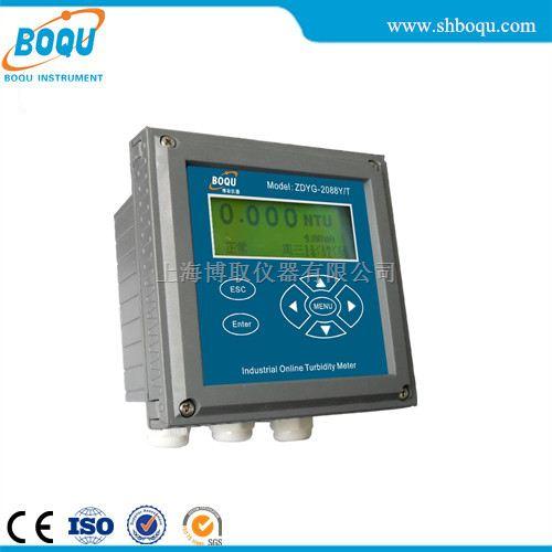 0-5000NTU大量程浊度分析仪ZDYG-2088Y/T,流通式5000NTU浊度监测仪生产厂家