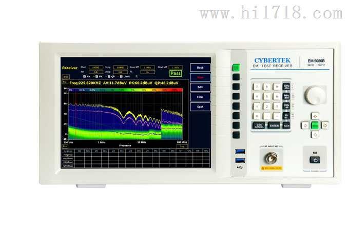 电磁干扰测量接收机
