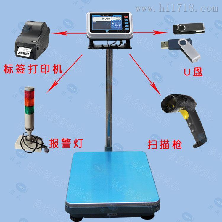 电子秤可直接对接ERP系统发送数据功能