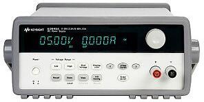 是德科技 E3645A 80W 电源,E3645A 80W 电源技术指标