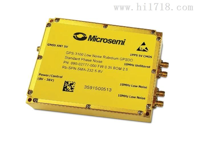 > 美国microsemi gps-3100 驯服铷原子钟 > 高清图片