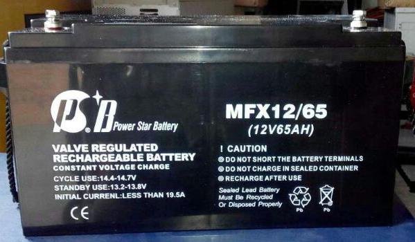 派士博蓄电池MFM12-17 蓄电池