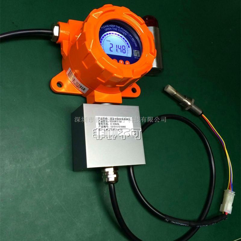 固定式氧化锆分析仪检测仪耐高温氧气气体浓度分析探测器报警器