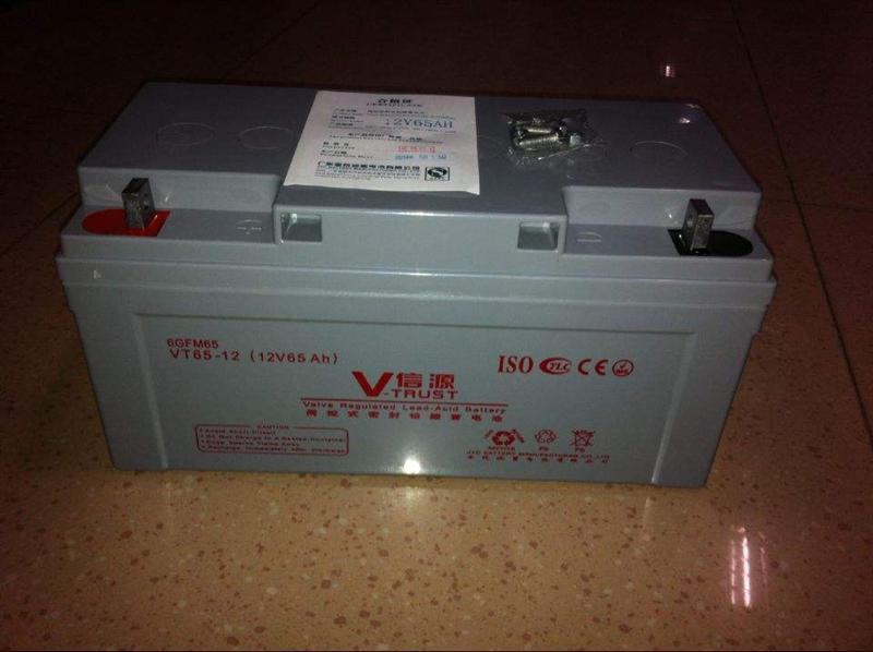 信源蓄电池VT65-12,报价、参数见详细说明12V65AH