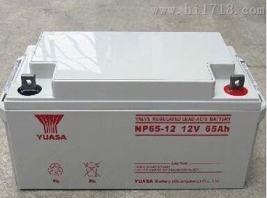 广东汤浅蓄电池NP65-12销售价格