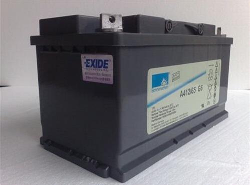 进口德国阳光蓄电池A412/100A价格