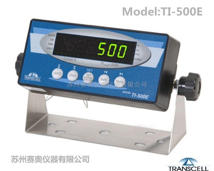 美国Transcell传力称重仪表TI-500E