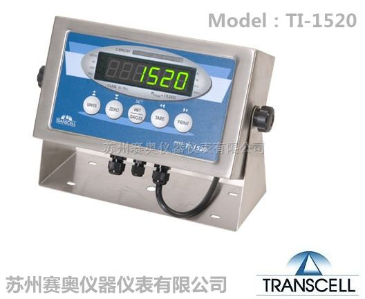 美国Transcell传力称重仪表TI-1520