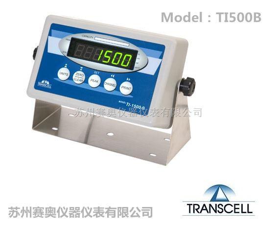 美国Transcell传力称重仪表TI-1500B