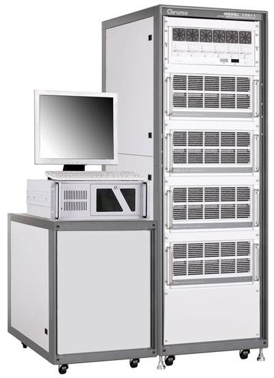 Chroma 17011 可编程电池充放电测试系统,电池芯充放电测试系统