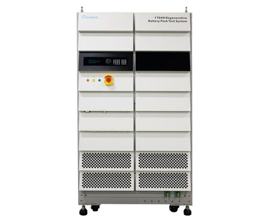 Chroma 17040电池模块测试系统,17040能源回收式电池模组测试系统