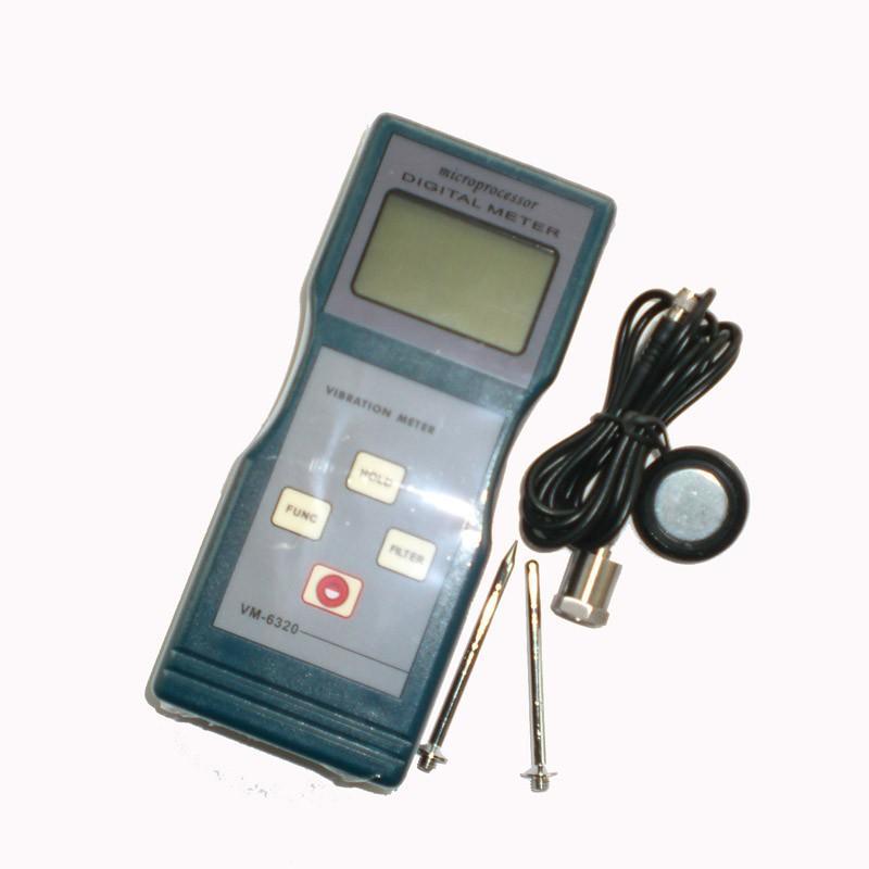 振动测试仪符合国际标准 iso2954,用于周期性运动测量,以检测运动机械