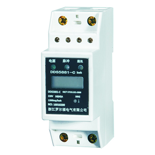 DDS5881-JD型DIN导轨式安装电能表