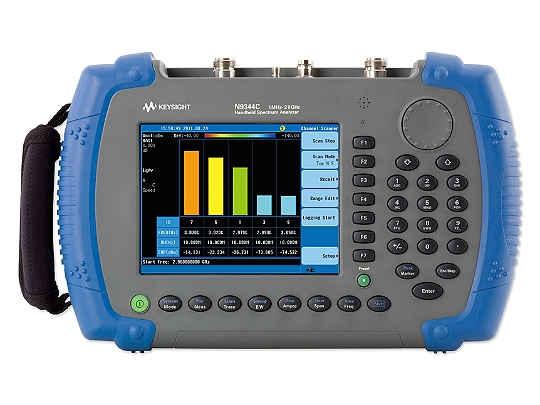 安捷伦/是德科技 N9344C 手持式频谱分析仪(HSA),20 GHz