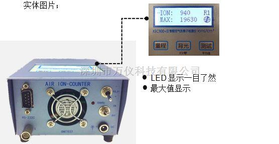 KEC900+II升级版小粒径负离子检测仪