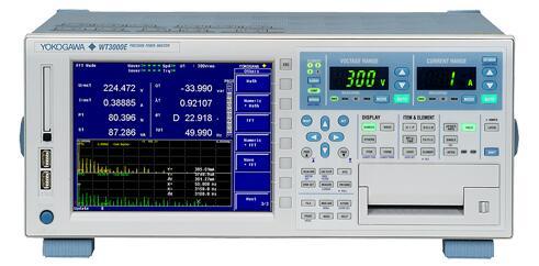 WT3000E 功率分析仪,YOKOGAWA横河 WT3000E 高精度功率分析仪