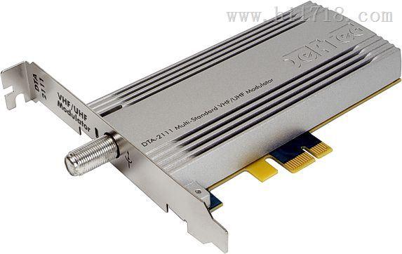 DTA-2111多制式电视信号调制卡,DTA-2111码流卡