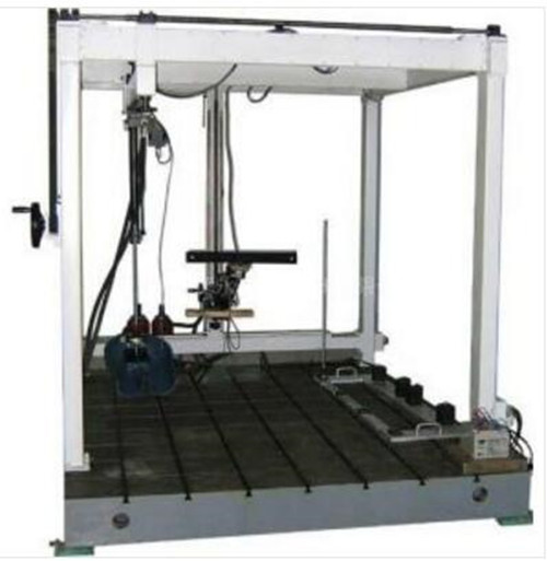 座椅骨架耐久试验台采用气压伺服方式实现汽车座椅骨架的耐久强度试验图片