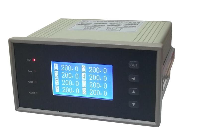 智能十六路巡检仪 DM1216 博敏特16路PT100 4-20mA 万能输入热电偶