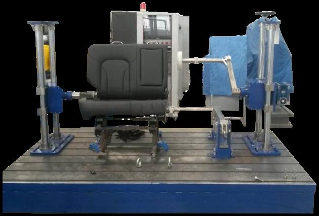 座椅多功能耐久试验台 汽车座椅多功能试验台 mes 标准集团
