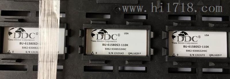 仪器仪表网 供应 集成电路 美国ddc原装正品军工级ic bu-61580s3-110k