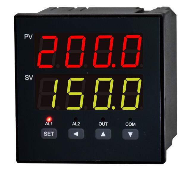 双路PT100温度显示仪 DM1202 博敏特可以同时显示两路PT100温度的仪表 双通道温度