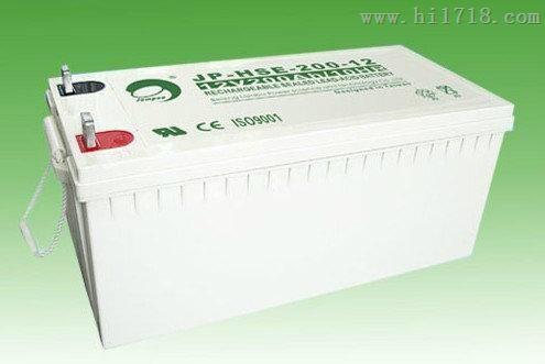 铅酸蓄电池 JP-HSE-200-12 劲博蓄电池销售代理
