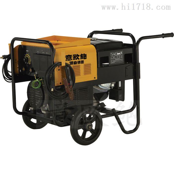 便携250A柴油发电电焊机使用步骤