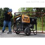 运行中350A柴油发电电焊机的噪音水平