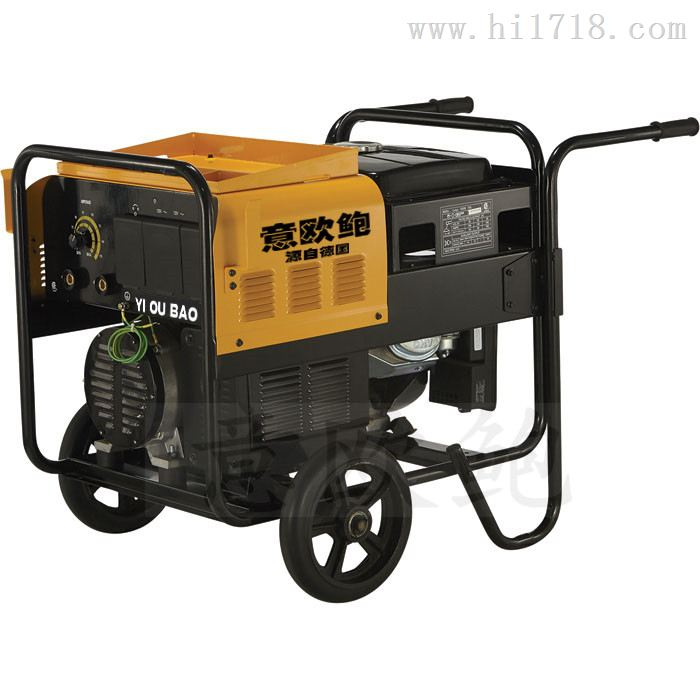 300A柴油发电电焊机一体机配发电机
