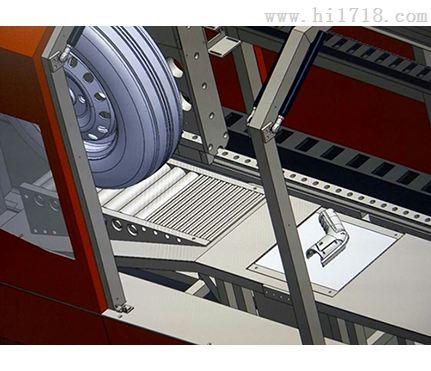 充电桩接口车辆碾压试验装置 符合标准gb/t20234.1-2015
