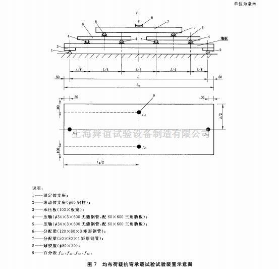 GB/T30100-2013均布荷载抗弯承载试验装置生产厂家