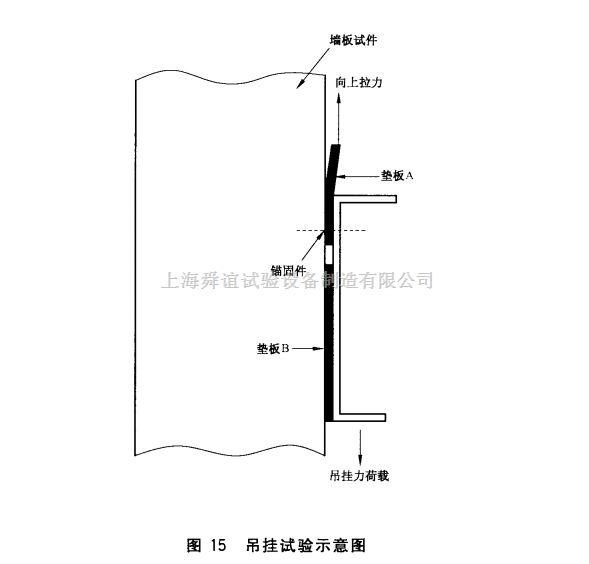 GB/T30100-2013砂袋法建筑墙板吊挂力试验仪生产厂家