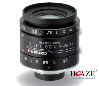 V1628-MPY 康标达1200万像素16mm镜头
