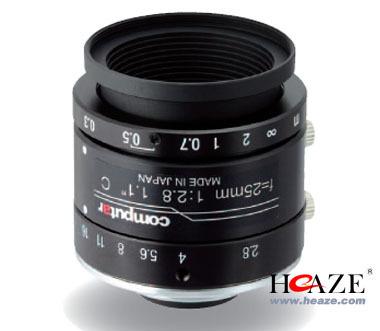 V2528-MPY 1.1英寸镜头 康标达25mm工业镜头