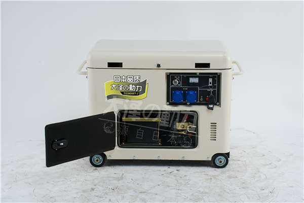 3kw静音柴油发电机图片