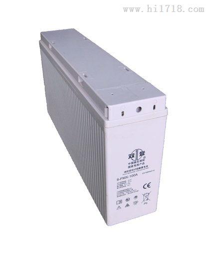 双登狭长型蓄电池6-FMX-100B系列狭长型电池