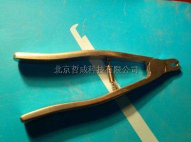 不锈钢鼠耳标钳北京哲成