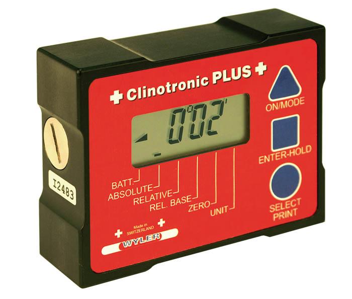 瑞士进口Wyler CLINOTRONIC PLUS+ 电子角度仪