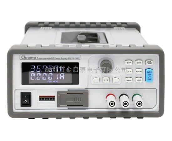 代理销售chroma可程控直流电源供应器 Model 62000L Series