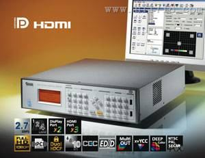 Chroma 2233-B台湾致茂高清视频信号发生器