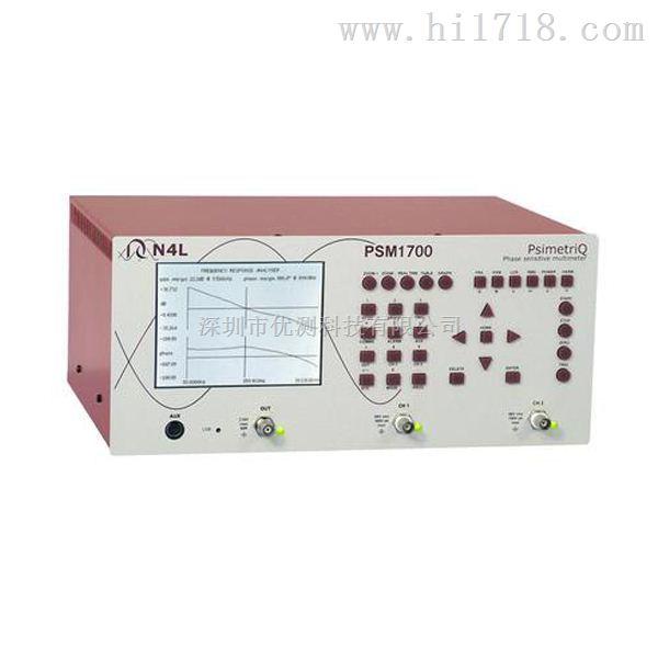 牛顿频率响应分析仪PSM1700 兼具多种量测功能