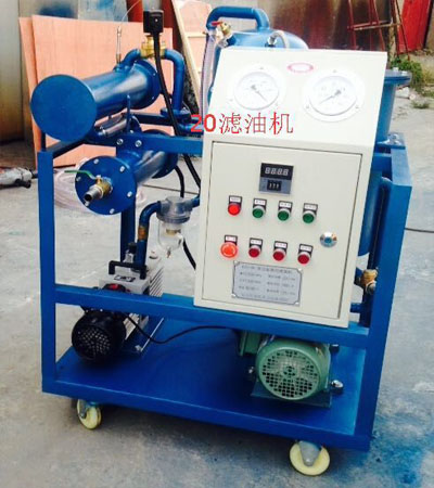 LUC-125型 滤油车