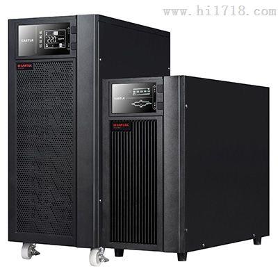山特电源3c20ks三进单出20kva/16kw外挂蓄电池